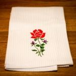 Details: Küchentuch Rose 1