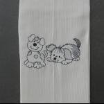 Details: Küchentuch Hund 1