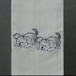 Details: Küchentuch Hund 2