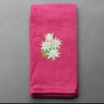 Details: Handtuch Pink