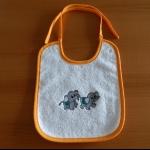 Details: Babylätzchen Elefanten