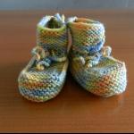 Details: Babyschuhe Pastell