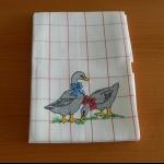 Details: Küchentuch Entenpaar 1