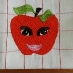 Details: Küchentuch Apfel