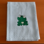 Details: Küchentuch Frosch