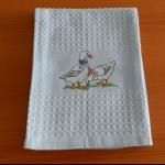 Details: Küchentuch Entenpaar 2