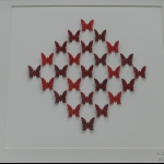 Details: Schmetterlingsbild Rot