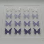 Details: Schmetterlingsbild Lila/Violett