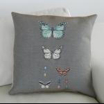 Details: Kissen Schmetterlinge 1