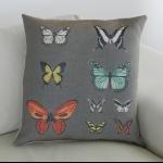 Details: Kissen Schmetterlinge 2