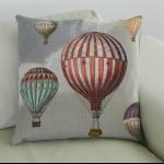 Details: Kissen Heissluftballon