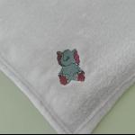 Details: Babydecke Elefant