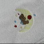 Details: Babydecke Bär/Mond