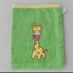 Details: Waschlappen Giraffe