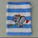 Details: Waschlappen Elefant
