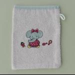 Details: Waschlappen Elefant 1