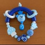 Details: Greifling Blau/Hellblau