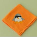 Details: Babytüchlein Pinguin