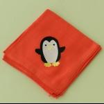 Details: Babytüchlein Pinguin 4