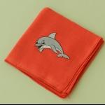 Details: Babytüchlein Delphin 11