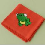 Details: Babytüchlein Frosch 1