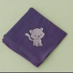 Details: Babytüchlein Katze 1