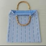 Details: Tasche Edelweiss mit Bambusgriff